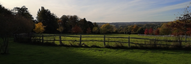 View from Smiths Hall towards Teston